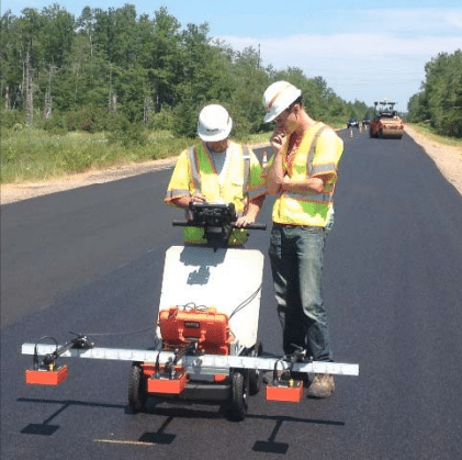 PaveScan RDM - Contrôle de la densité de l'asphalte