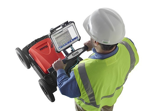 Géoradar UtilityScan DF, GSSI