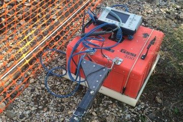 Antenne géoradar 200 MHz