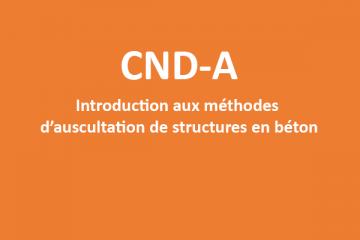 CND-A Introduction aux méthodes d'auscultation béton