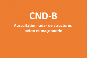 CND-B Formation radar de structures