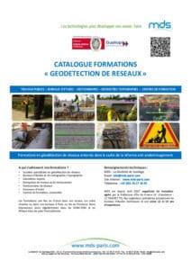 Catalogue des formations en géodétection de réseaux