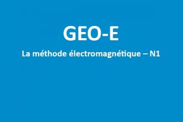 GEO-E - Formation méthode électromagnétique N1