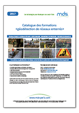 Catalogue Formation Géodétection