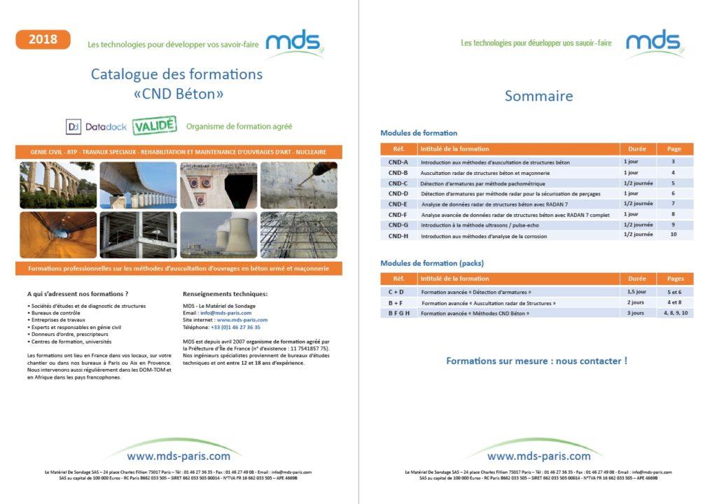 Formations CND Béton