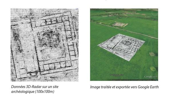 3D-Radar Examiner - Archéologie