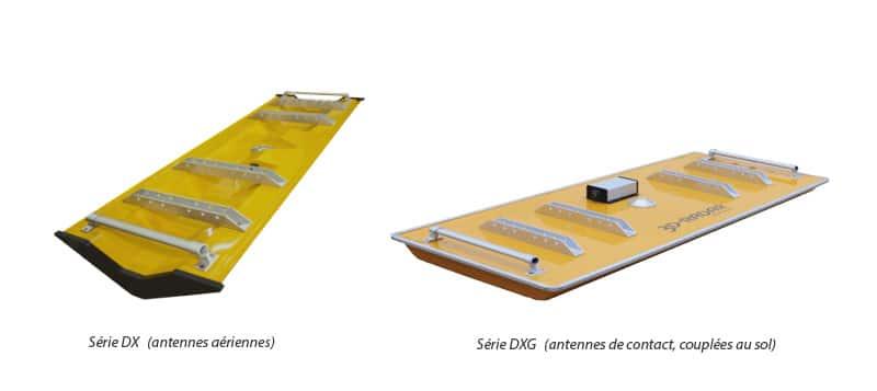 Antennes 3D-Radar DX et DXG