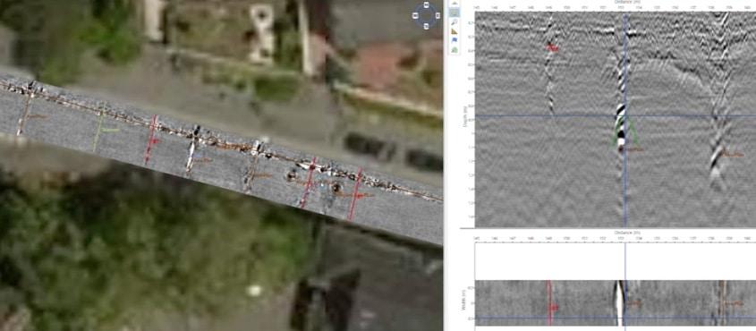 3D-Radar pour la géodétection