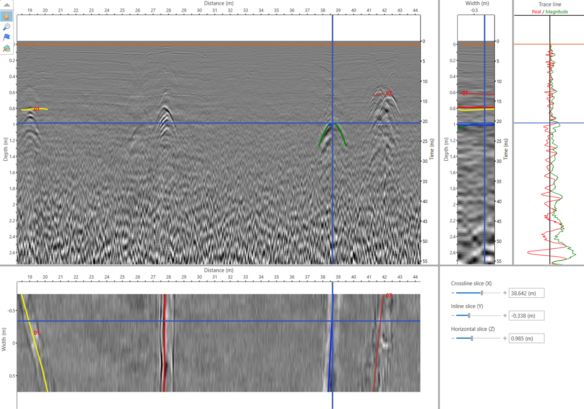 3D-Radar - Technologie d'antennes GPR à saut de fréquence (innovation)